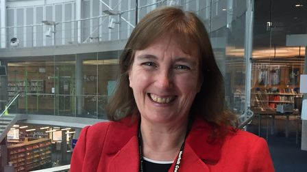 Jill Terrell, the new head of Norfolk County Council's library service.