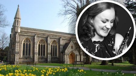 Nicola Hands will perform at St Peter's Church in St Albans