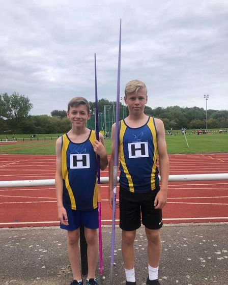 Brothers Booby andZak Williams both improved their career best at Basildon on Sunday