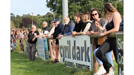 Supporters were allowed to WInscombe RFC's game with Clevedon RFC