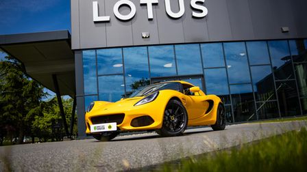 A Canaries fan could find themselves behind the wheel of a limited edition Lotus car which is up for grabs.
