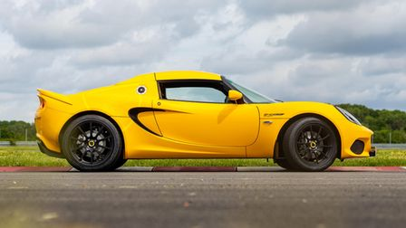 The Lotus Elise 240 Final Edition in all its glory