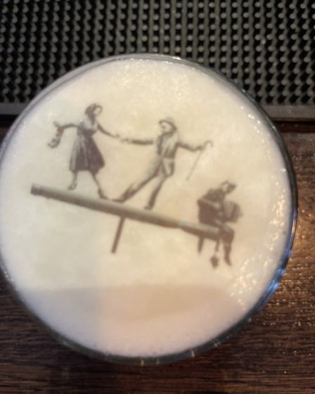 The Banksy Cocktail with a Great Yarmouth twist