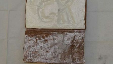Cocaine seized from Daniel Worrall