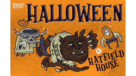 Sneaky Experience presents Halloween fun for kids at Hatfield House
