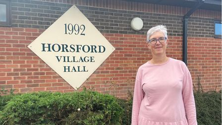 Debi Hall, from Thorpe Marriott, who grew up in Horsford