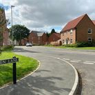 The Kingfisher Meadow development in Horsford