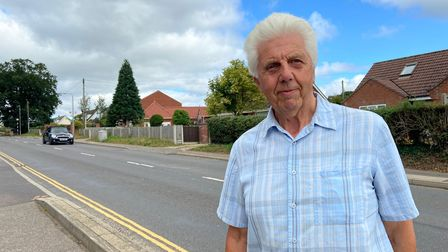 Colin Dennis, 77, who has lived in Horsford since 1987