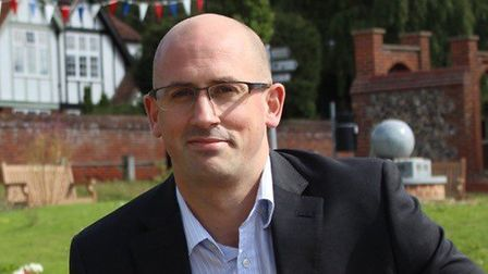 Dave Thomas, who represents Horsford on Broadland District Council. Picture: Stephanie Wenn