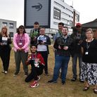 East Coast College Enterprise students who have been nominated for a global Roots and Shoots award, pictured with staff.