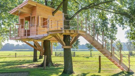 Build a bespoke treehouse for your children in your outdoor garden space with Luxury Living Outside in Cheshire.