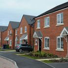 File photo dated 05/03/15 of a Bellway homes housing development in Cannock, West Midlands, as figur