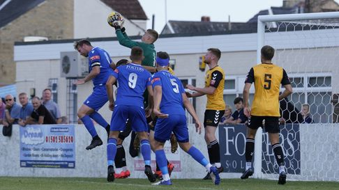 Lowestoft Town FC Rushall Olympic FC