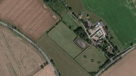 Planning bid for secure dog exercise field A149 Martham