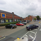 The assault took place near the Aldi in Meredith Road