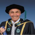 West Ham Academy legend Tony Carr receives honorary doctorate from UEL