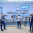 James Paget surgeons join London to Brighton charity cycle ride