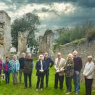 A North Norfolk u£a group explores the ruins of Beeston Priory.