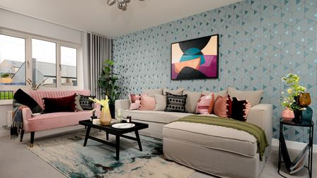 The living room of the £250,000 house in Feniscowles you could win with a £5 raffle ticket