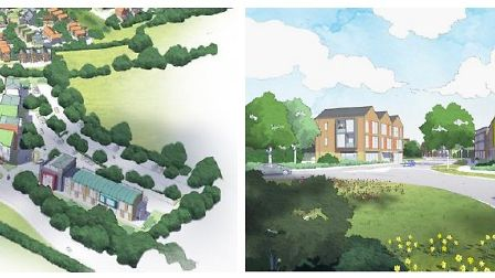 Anartist's impression of how the development could look
