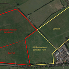 An illustration from Northaw & Cuffley Parish Council showing the proximity of the two sites.