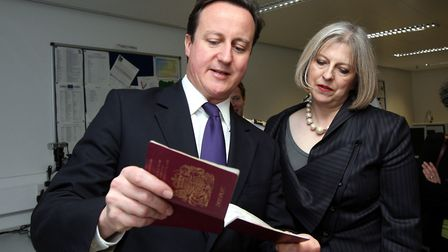 Theresa May was caught up in the Windrush scandal while home secretary under David Cameron. (Steve P