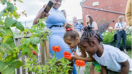 The project trains school chefs and offers food education to children and communities in Hackney.