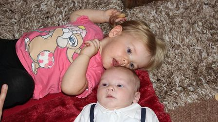 Jamie Finch's two adorable children - Penny and Josh