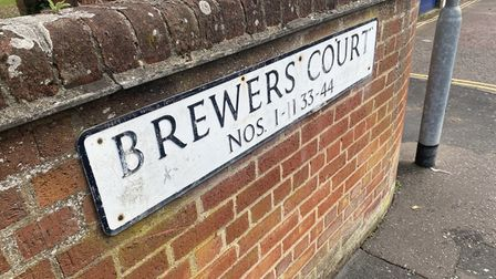 Brewers Court in Norwich where Rakeem Leandre, man accused of murder in Northampton, lived.