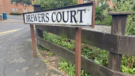 Brewers Court in Norwich where convicted murderer Rakeem Leandre lived.