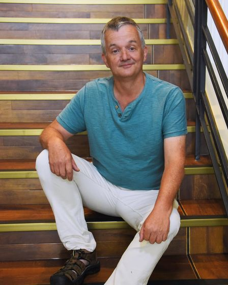 Richard Gauntlet, who will be Sarah the Cook in this year's Theatre Royal panto, Dick Whittington an