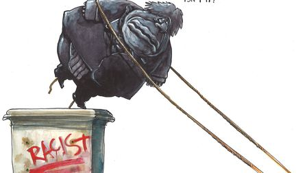 Martin Rowson on Boris Johnson and the Black Lives Matter protests.