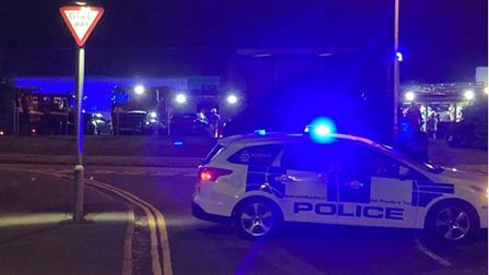 People are being told to close their doors and windows after a suspected gas leak in the Holt Road area in Cromer.