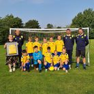 Hemingfords United latest junior team have been kitted out in style thanks to sponsors Bonito Platito.
