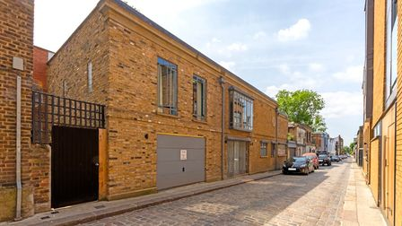 Suggs' former home in Camden Mews