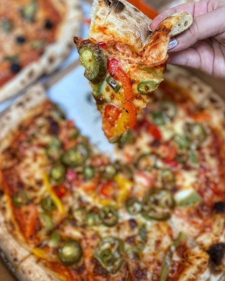Fireaway's menu offers a range of bases and toppings for the same price.
