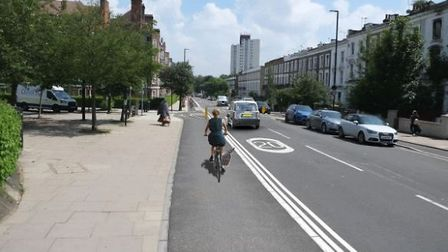 The proposal for Prince of Wales Road