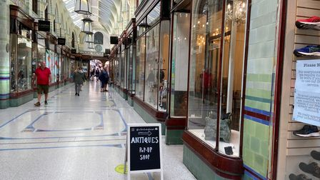Old School Interiors in the Royal Arcade