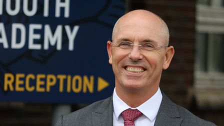 Barry Smith, principal at Great Yarmouth Charter Academy, run by the Inspiration Trust. Picture: A