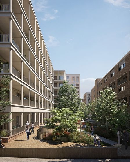 Kings Crescent will house some of the 700 new homes that have received planning permission since 2018.
