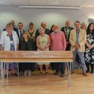 Guests and Norfolk County Councillors at the offiicial opening of The Mac McGinn Hall at Sheringham