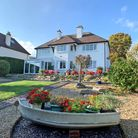 This impressive 4 bedroom detached house is situated in an elevated position in Sidford