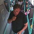 Police have released a CCTV image of a man they would like to speak to in connection with a burglary in Great Yarmouth
