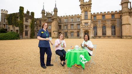 Alison, Bhavani and Lourdes are asking for people to hold a Macmillan Coffee Morning.