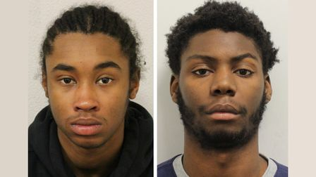 Guilty of Canning Town murder...Mohammad Jalloh from Wapping (left) Vagnei ColubalifromEnfield