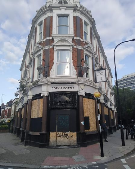The former Cork and Bottle has been bought by the East London Pub Co