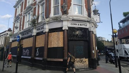 The former Cork and Bottle is now owned by the East London Pub Co