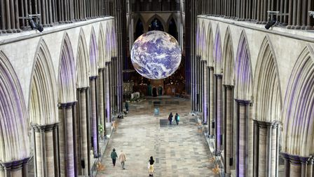 The Gaia installation exhibition will be taking place at St Peter Mancroft Church in October