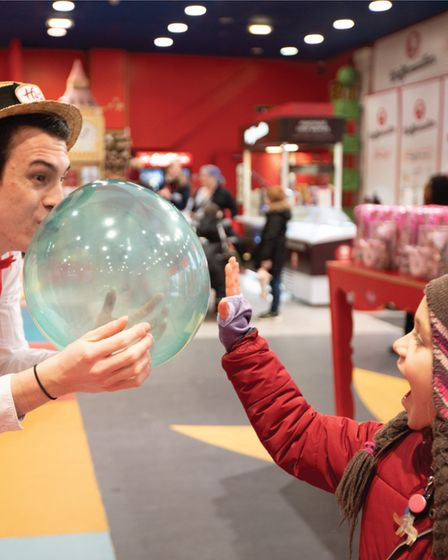 There is lots to see and do when you visit Hamleys.