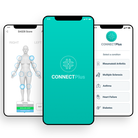 The CONNECTPlus app supports patients to better manage their condition at home